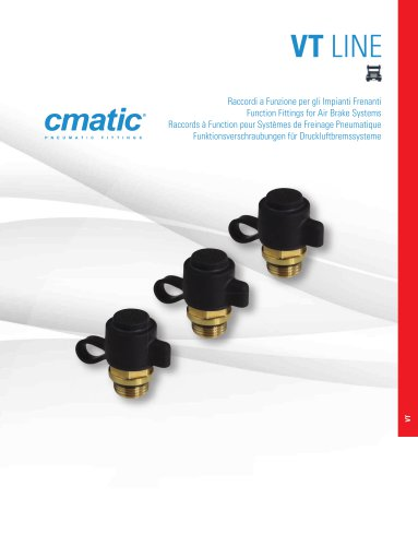 VT Line - Function Fittings for Air Brake Systems