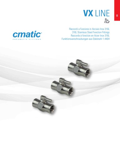 VX - 316L Stainless Steel Function Fittings