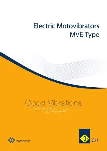 Electric Motovibrators MVE Brochure