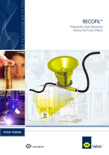 Pneumatic Dust  Recovery RECOFIL Brochure