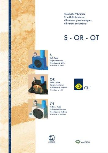 Pneumatic Vibrators S-OR-OT Brochure