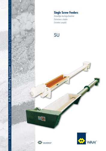 Single Screw Feeders SU Brochure
