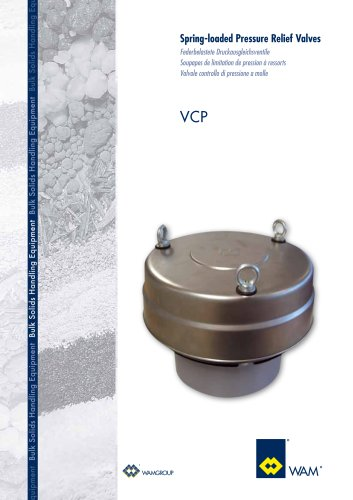 Spring-loaded Pressure Relief Valves VCP Brochure