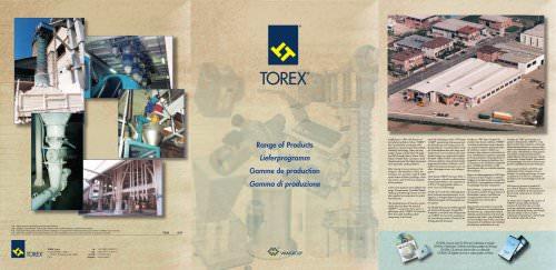 TOREX Product Range Brochure