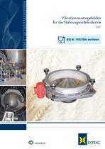 Vibrationsaustrageböden für die Nahrungsmittelindustrie BAF