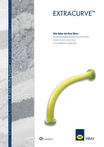 Wide Radius Anti-Wear Elabaws EXTRACURVE Brochure