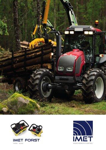 Forst- und Recylingkrane