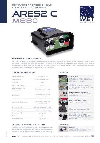Technische Daten M880 ARES2 C