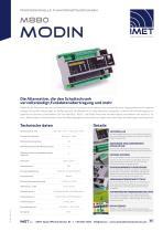 Technische Daten M880 Modin - 1