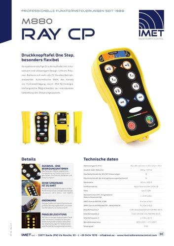 Technische Daten M880 RAY CP