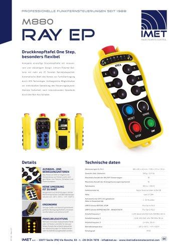 Technische Daten M880 RAY EP