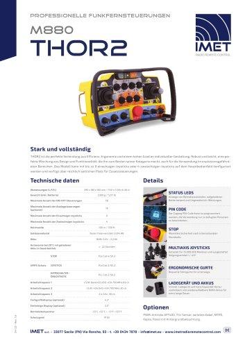 Technische Daten M880 THOR2