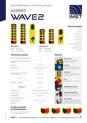 Technische Daten M880 WAVE2