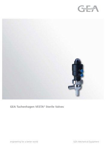 VESTA® Sterile Valves