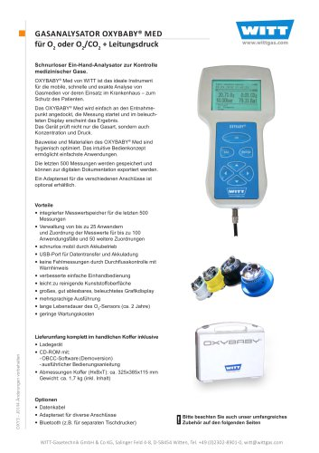 OXYBABY® Med