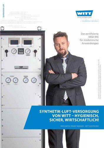 Synthetik-Luft-Versorgung - Gasmischer für medizinische Anwendungen