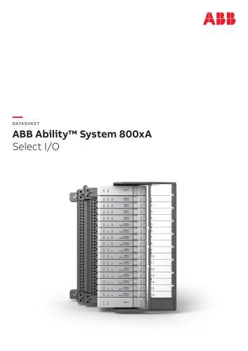 ABB Ability™ System 800xA Select I/O
