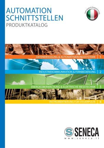AUTOMATION SCHNITTSTELLEN PRODUKTKATALOG