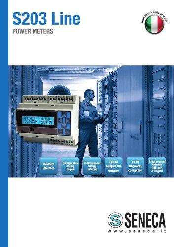S203 Series Energy Power Meters