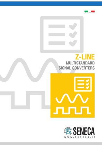 Z-LINE MULTISTANDARD SIGNAL CONVERTERS