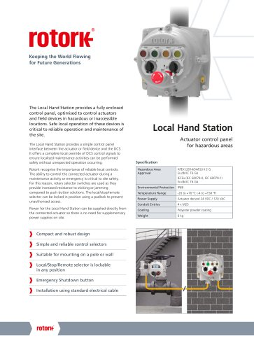 Local Hand Station