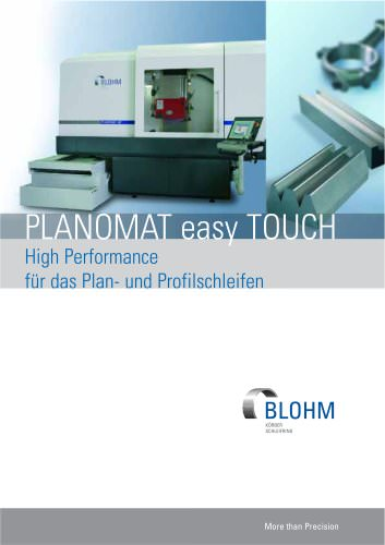 PLANOMAT HP mit easy TOUCH