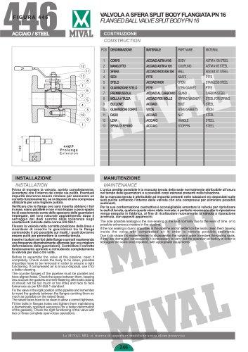 Ball valve – Item 446