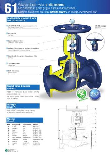 Bellows valve – Item 61