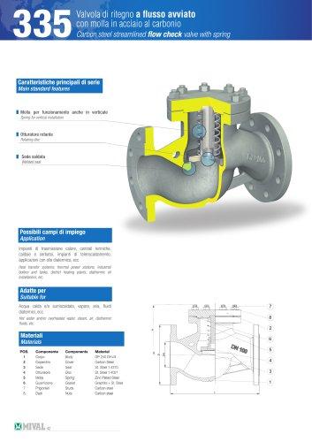 Check valve – Item 335