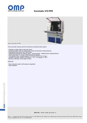 Euromatic 370 PPR