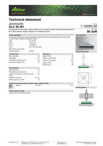 GLV 50 /B1