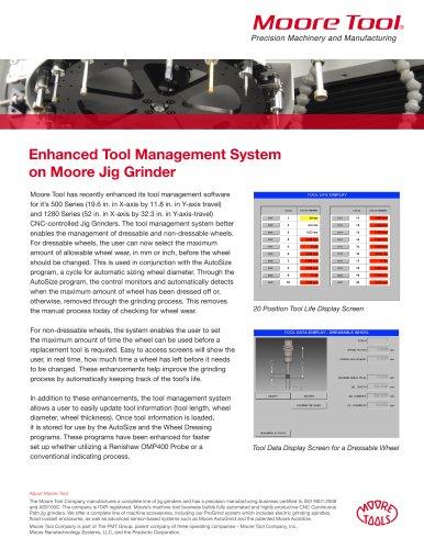 Enhanced Tool Management System