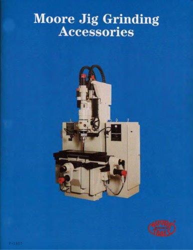Moore Jig Grinding Accessories