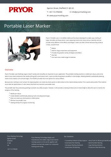 Portable Laser Marker