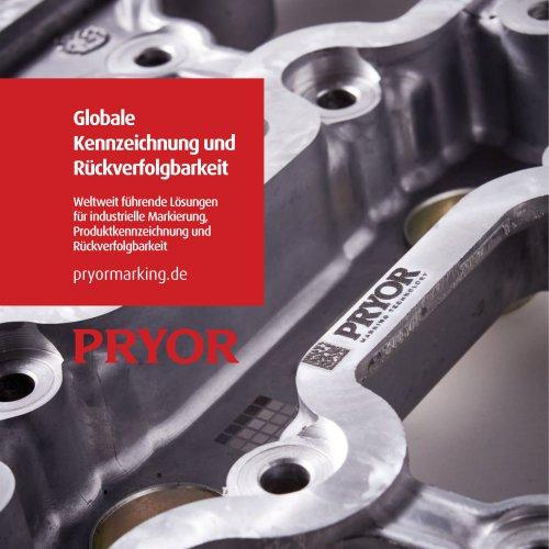 Pryor Marking Technology DE
