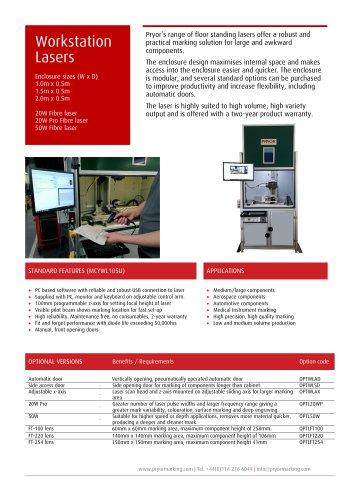 Workstation Lasers