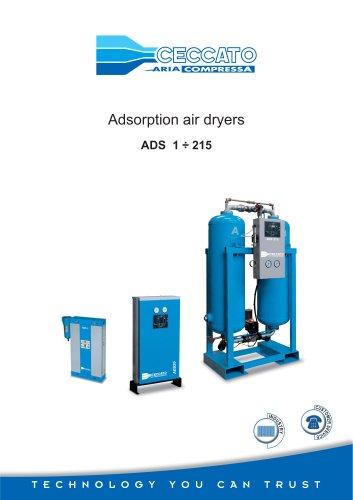 Adsorption air dryers