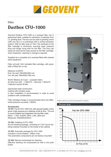 CFU Filter - Dustbox