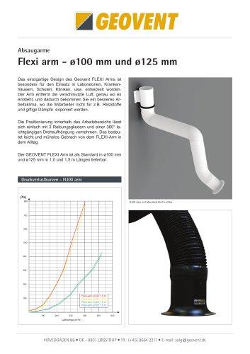 Flexi arm