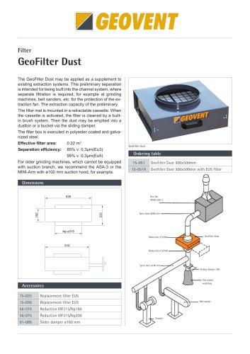 GeoFilter Dust