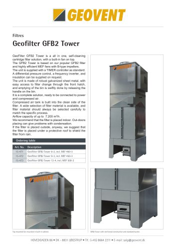 Geofilter GFB2 Tower