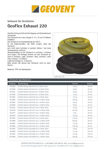 GeoFlex Exhaust 220