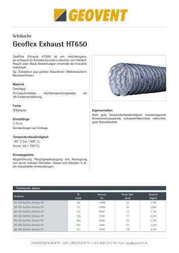Geoflex Exhaust HT-650