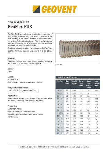 GeoFlex PUR