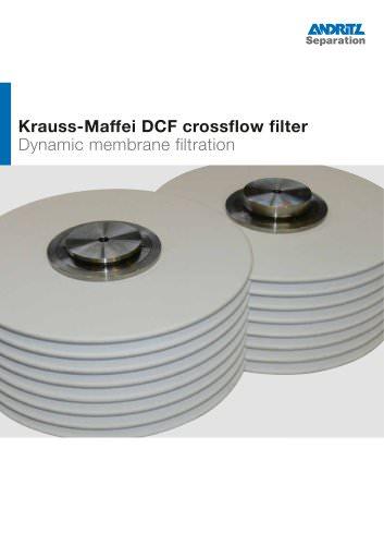 ANDRITZ Krauss-Maffei DCF crossflow filter