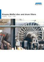 ANDRITZ Krauss-Maffei disc and drum filters