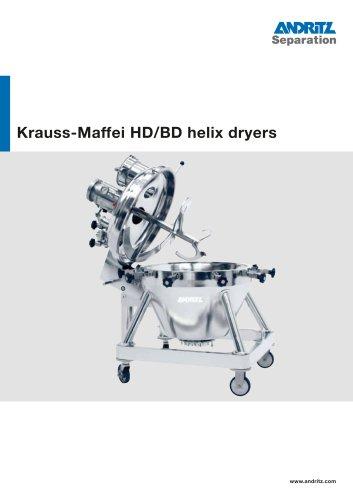 ANDRITZ Krauss-Maffei HD/BD helix dryers