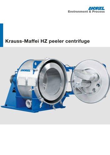 Krauss-Maffei HZ peeler centrifuge