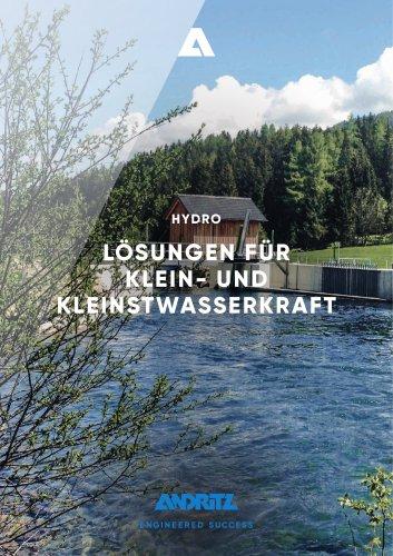 LÖSUNGEN FÜR KLEIN- UND KLEINSTWASSERKRAFT