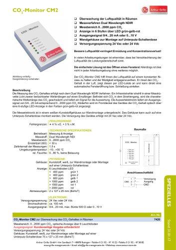 Datenblatt CM2